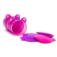 Vital Baby Prep and Go Food Pots Pink