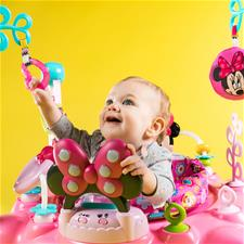 Nursery products distributor of Bright Starts Disney Baby Minnie Mouse Peekaboo Entertainer