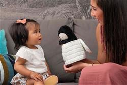 Nursery products distributor of Kaloo Kachoo Surprise Puppet Gabin Penguin