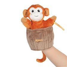 Nursery products distributor of Kaloo Kachoo Surprise Puppet Jack Monkey