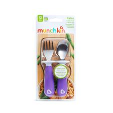 Nursery products distributor of Munchkin Raise Fork & Spoon Set