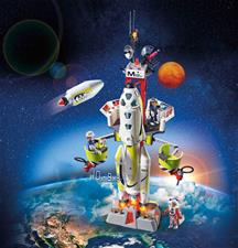 Nursery products distributor of Playmobil Space Mission Rocket with Launch Site with Lights and Sound