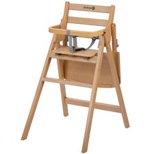 Nursery products distributor of Safety 1st Nordik Folding Wooden Highchair Natural