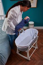 Nursery products distributor of Tommee Tippee Sleepee Basket & Stand - Classic Grey