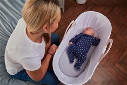 Nursery products distributor of Tommee Tippee Sleepee Basket & Stand - Gentle Pink