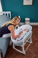 Nursery products distributor of Tommee Tippee Sleepee Basket & Stand - Mint Green