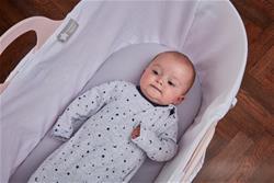 Nursery products distributor of Tommee Tippee Slepee Basket - Gentle Pink
