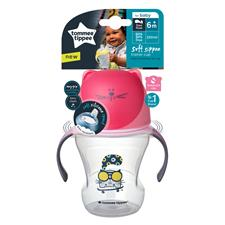Nursery products distributor of Tommee Tippee Soft Sippee Trainer Cup 230ml