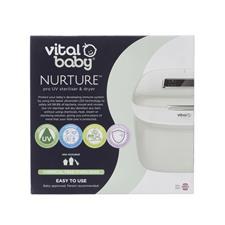 Nursery products distributor of Vital Baby NURTURE Pro UV Steriliser & Dryer