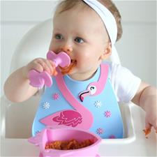 UK distributor of Nuby 3D Silicone Bib