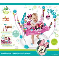 Nursery products wholesaler of Bright Starts Disney Baby Minnie Mouse Peekaboo Entertainer