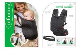 Nursery products wholesaler of Infantino Zip Ergonomic Baby Travel Carrier