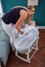 Nursery products wholesaler of Tommee Tippee Sleepee Basket & Stand - Mint Green