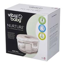 Nursery products wholesaler of Vital Baby NURTURE 2 In 1 Combination Steriliser