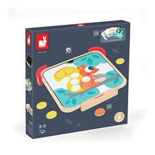Nursery products supplier of Janod I am Learning Colours - Magnetic Chips