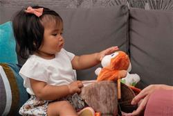 Nursery products supplier of Kaloo Kachoo Surprise Puppet Jack Monkey