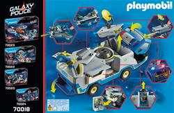 Nursery products supplier of Playmobil Galaxy Police Truck