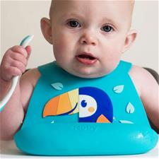 UK supplier of Nuby 3D Silicone Bib