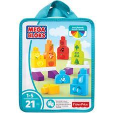 Mega Bloks Build n Learn 20pcs Bags