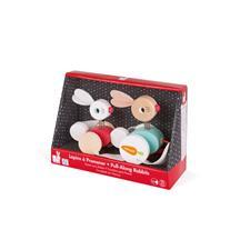 Baby products distributor of Janod Zigolos Pull-Along Rabbits