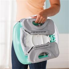 Baby products supplier of Summer Infant Deluxe Comfort Folding Booster Seat Teal