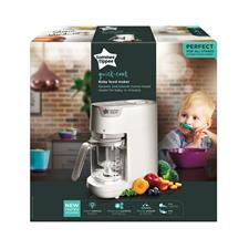 Baby products wholesaler of Tommee Tippee Quick Cook Food Steamer & Blender