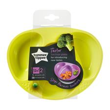 Explora Section Plates Twin Pack - 4 colours