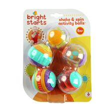 Wholesale of Bright Starts Shake and Spin Activity Balls