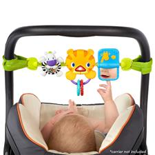 Bright Starts Take Along Tiger Carrier Toy Bar