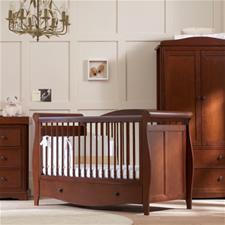 Mothercare Bloomsbury Cot Bed Walnut