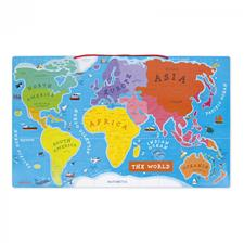 Distributor of Janod Magnetic World Map Puzzle