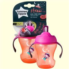 Distributor of Tommee Tippee Training Straw Cup Girl 6m+