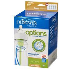 Dr Brown's Options Bottle 270ml 4Pk