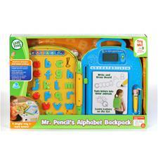 Leap Frog Mr. Pencil's Alphabet Backpack