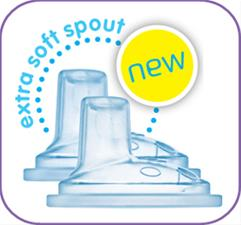 MAM Cup Extra Soft Spouts Twin Pack
