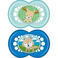 MAM Nature Soother 6m+ 2Pk