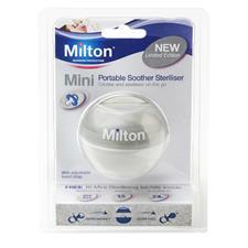 Milton Mini Soother Steriliser Silver