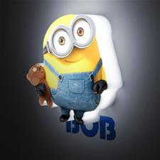 Minion Bob with Teddy Wall Light