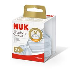 NUK Nature Sense 0-6m Medium Teat