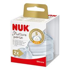 NUK Nature Sense 0-6m Small Teat