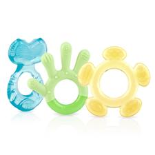 Nuby 3 Step Teether Set 3Pk