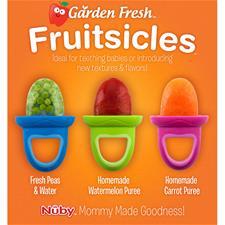 Wholesale of Nuby Garden Fresh Popsicles 4Pk