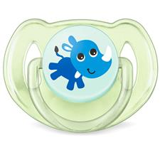 Philips Avent Classic Soothers Monkey & Rhino 6-18m 2Pk