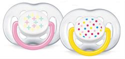 Philips Avent Free Flow Soothers 6-18m 2Pk
