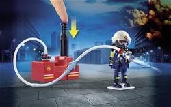 Wholesale of Playmobil Firefighters with Water Pump