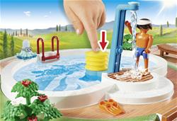 Wholesale of Playmobil Swimming Pool with Functioning Shower and Floating Raft