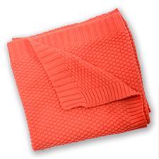 Silvercloud Cotton Blanket Coral