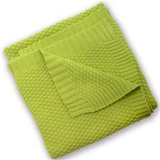 Silvercloud Cotton Blanket Lime