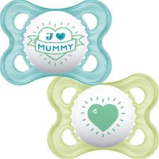 Supplier of MAM Style (I Love) Soother 0m+ 2Pk
