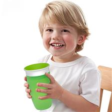 Supplier of Munchkin Miracle 360 Sippy Cup Green 296ml